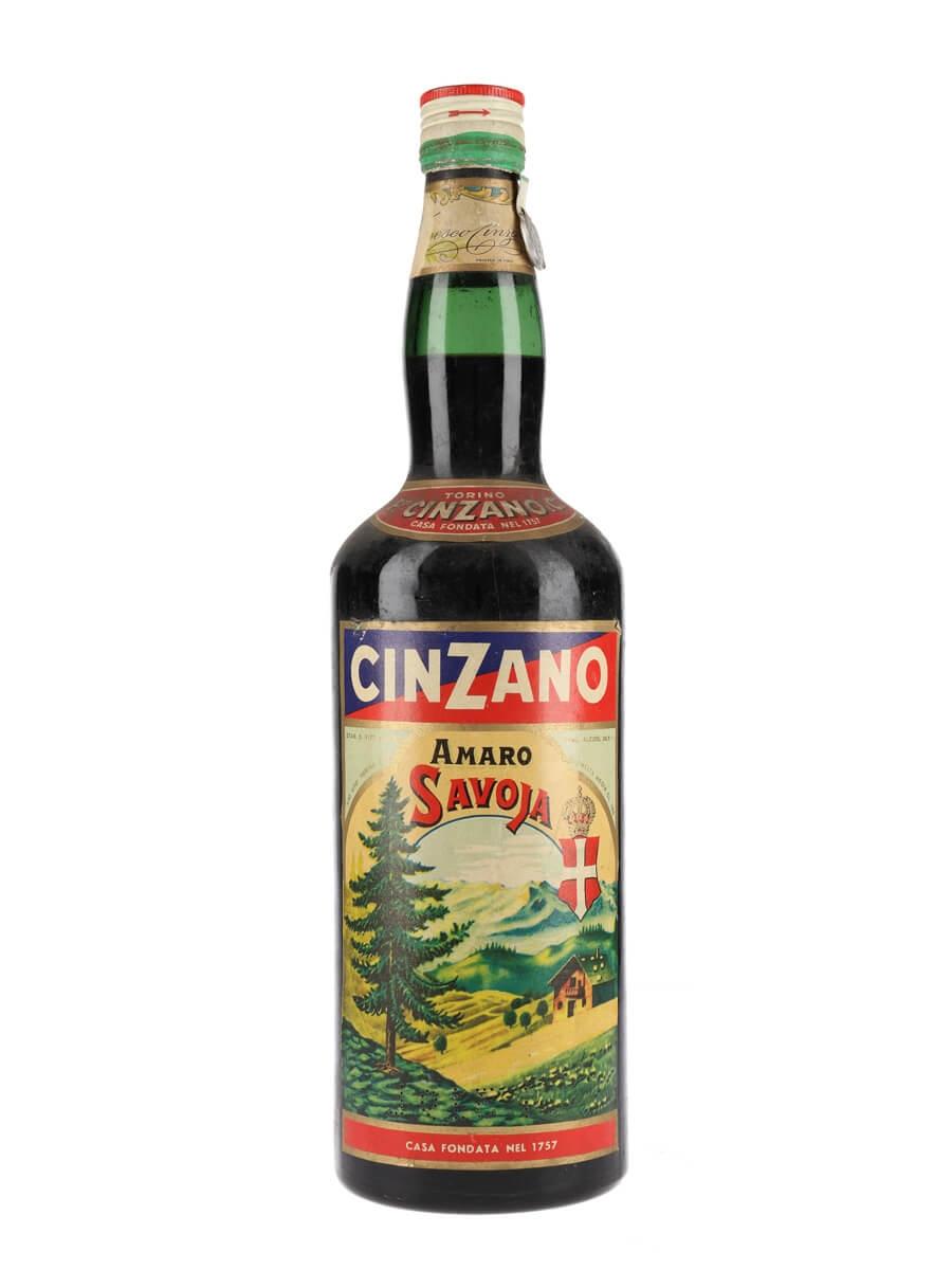 Cinzano Amaro Savoia / Bot.1960s