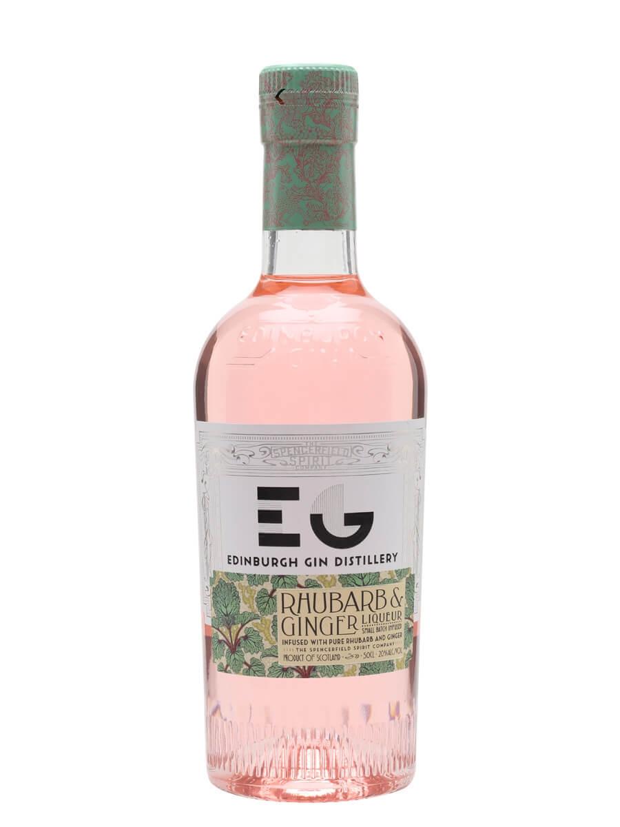 Edinburgh Rhubarb & Ginger Gin Liqueur