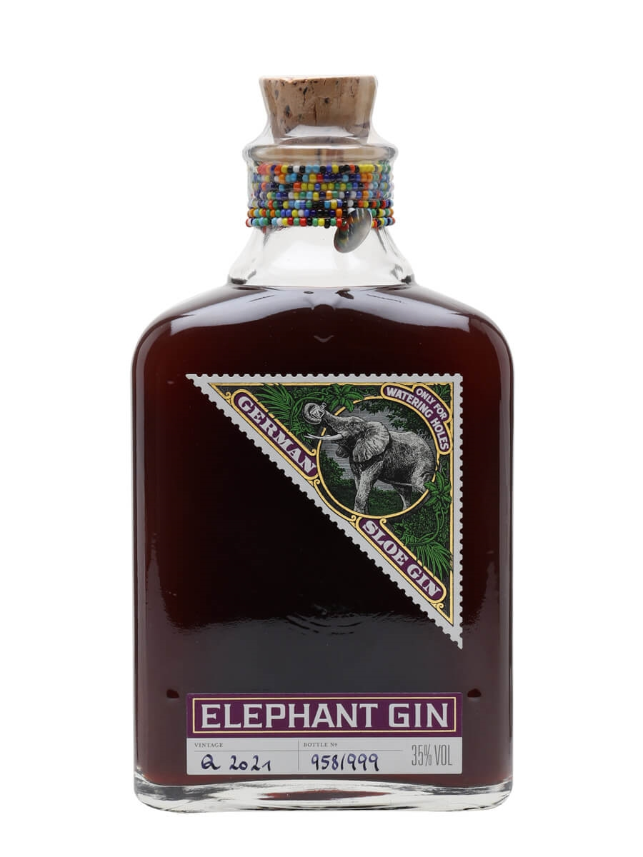 Elephant Sloe Gin - Half Litre : The Whisky Exchange