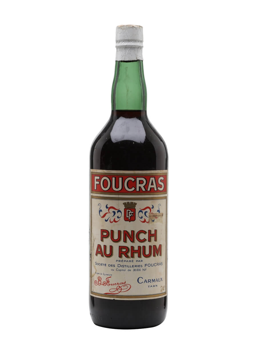 Foucras Punch Au Rhum / Bot.1950s