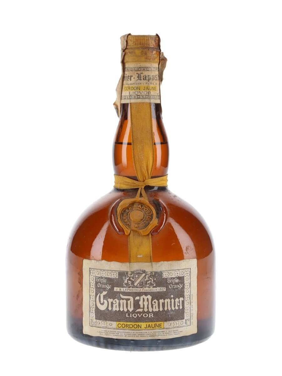 Grand marnier cordon jaune liqueur the for Grand marnier cordon jaune aldi