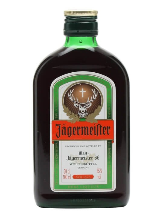 Jagermeister liqueur small bottle the whisky exchange for Cocktail jager