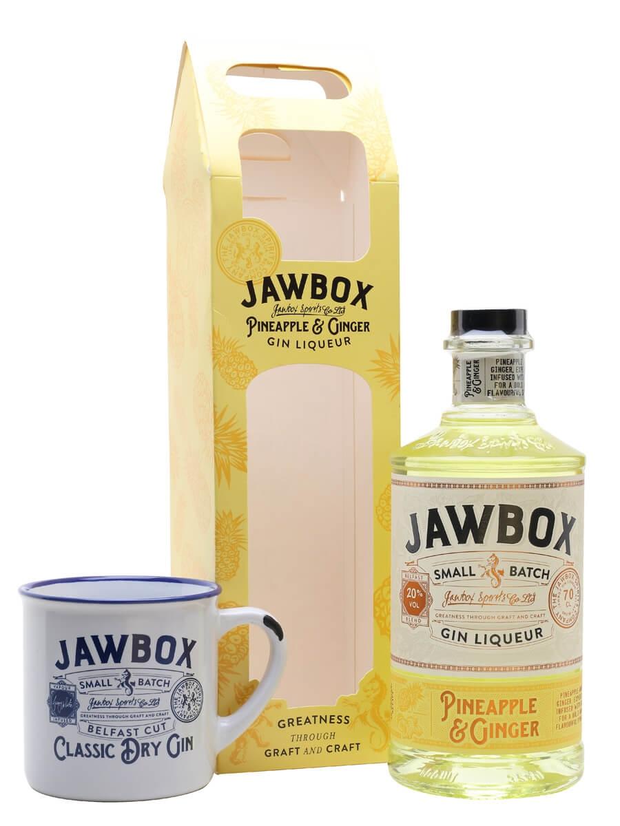 Jawbox Pineapple & Ginger Gin Liqueur / Mug Set