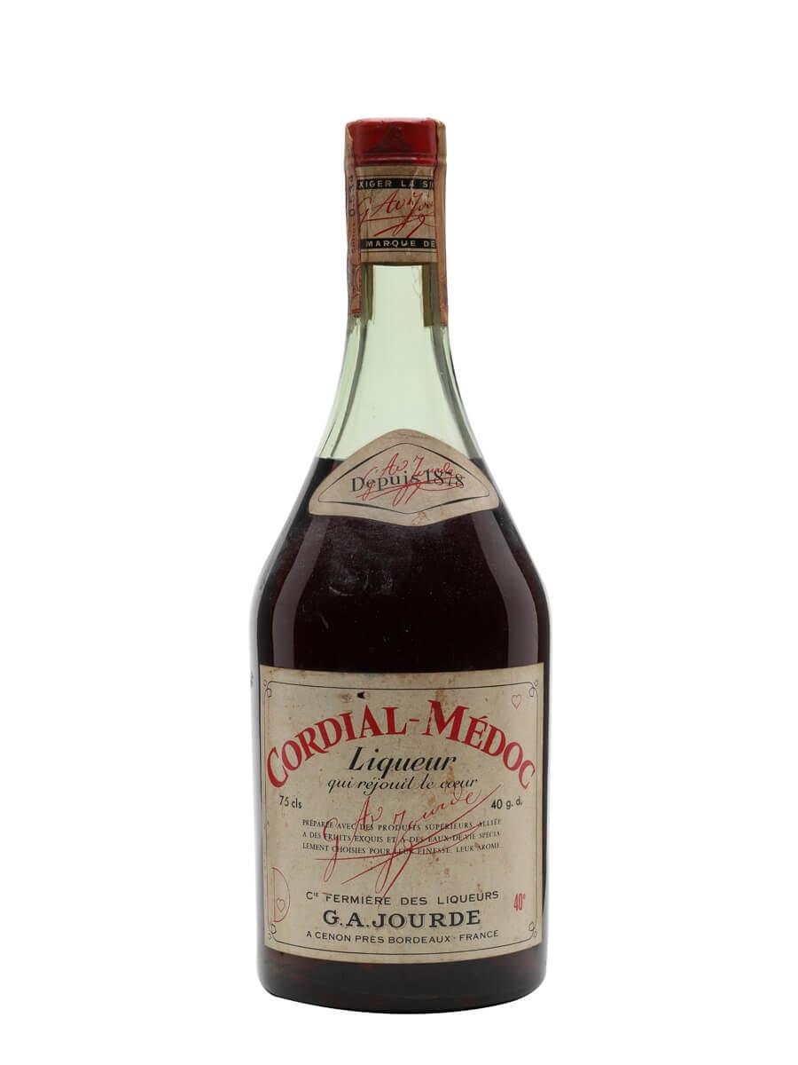 Jourde Cordial Medoc Liqueur Bot 1960s The Whisky Exchange
