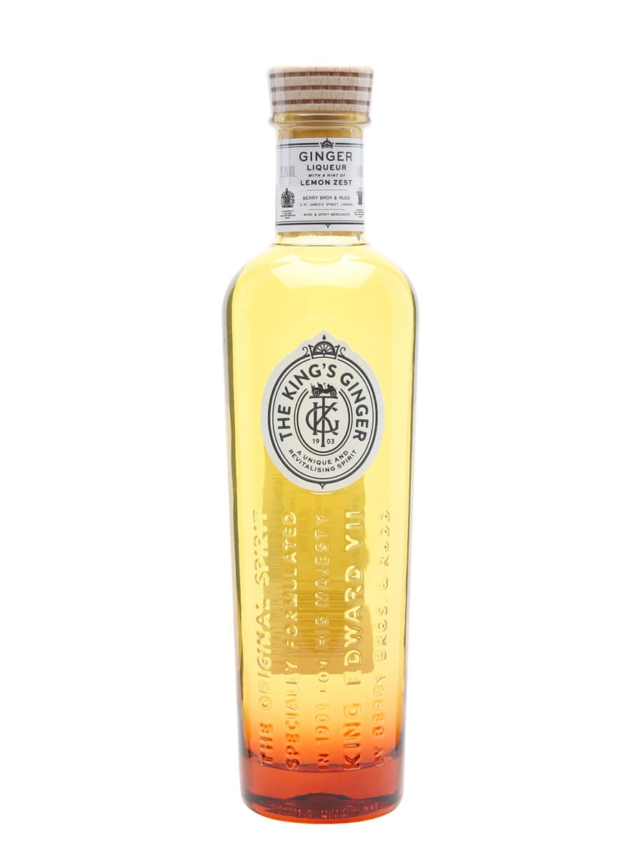 King's Ginger Liqueur / Berry Bros & Rudd / Half Litre