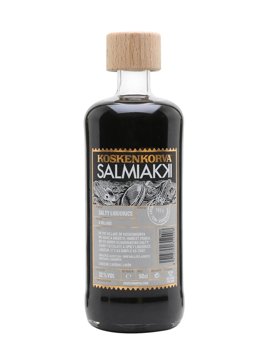 Koskenkorva Salmiakki Liqueur (32%)