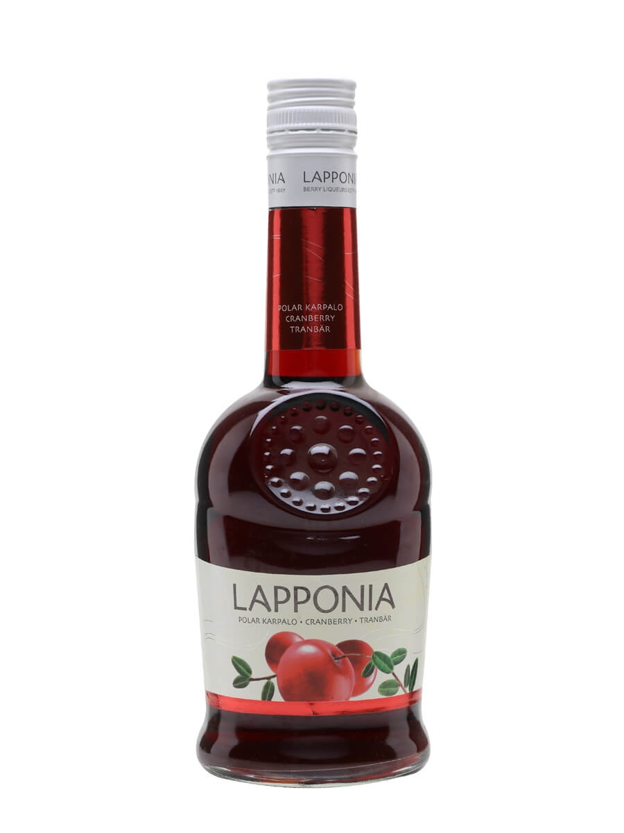 Lapponia Polar Cranberry Liqueur - Polar Karpolo : The Whisky Exchange