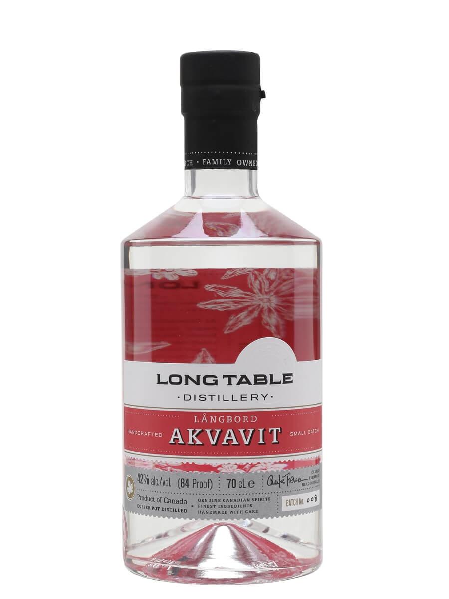 Long Table Distillery Langbord Akvavit