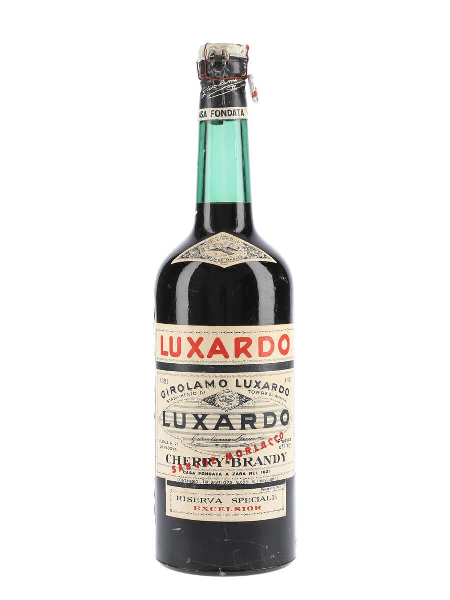 Luxardo Cherry Brandy / Riserva Speciale / Bot.1940s / Spring Cap