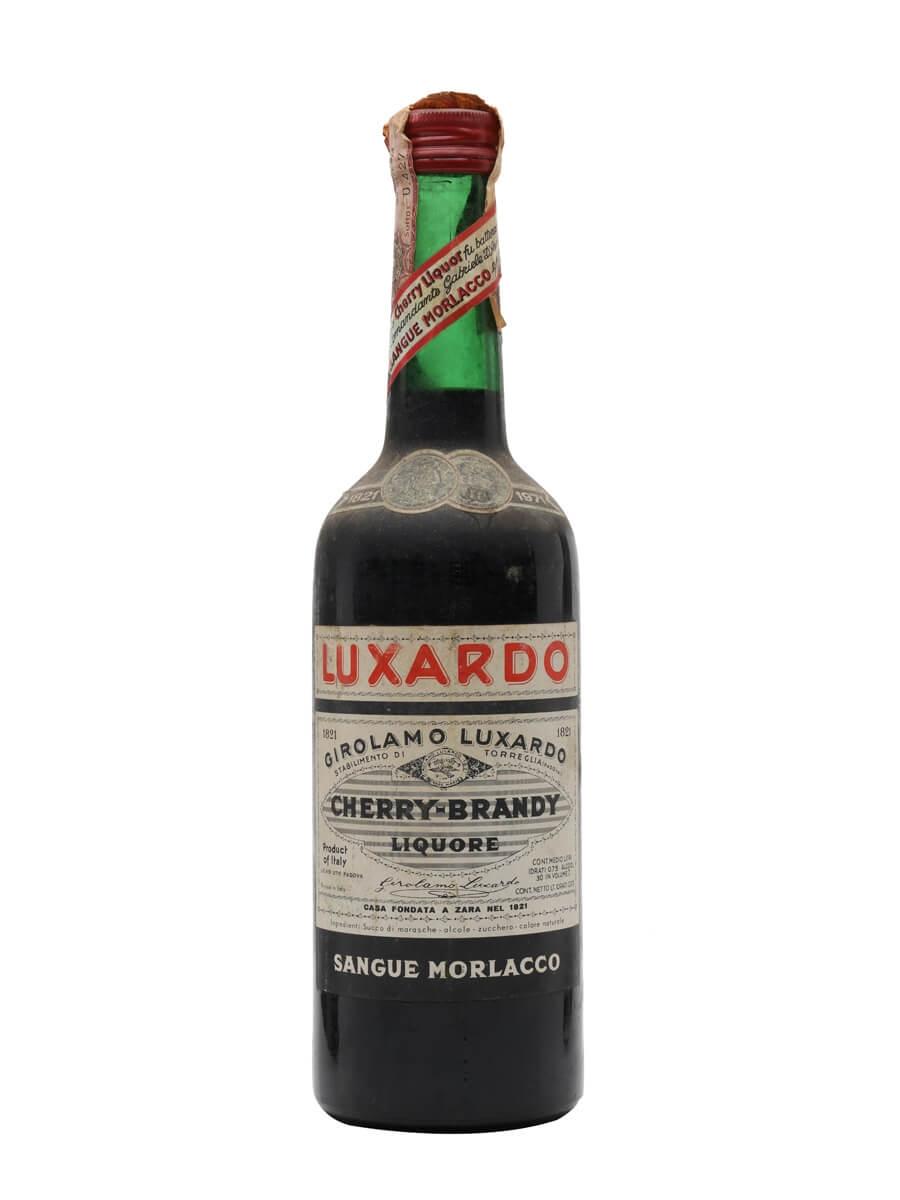 Luxardo Cherry Brandy / Sangue Marlacco / Bot.1950s