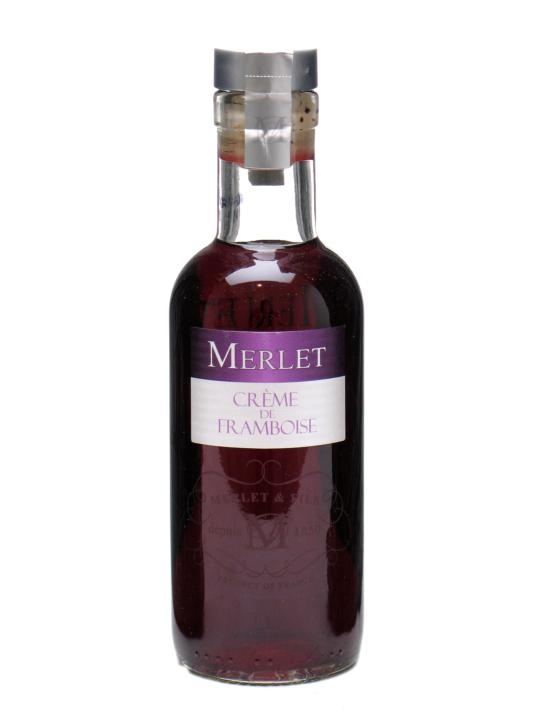 Merlet Creme de Framboise (Raspberry) Liqueur / Small Bottle