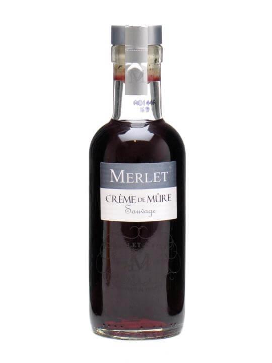 Merlet Creme de Mure Blackberry Liqueur / Small Bottle