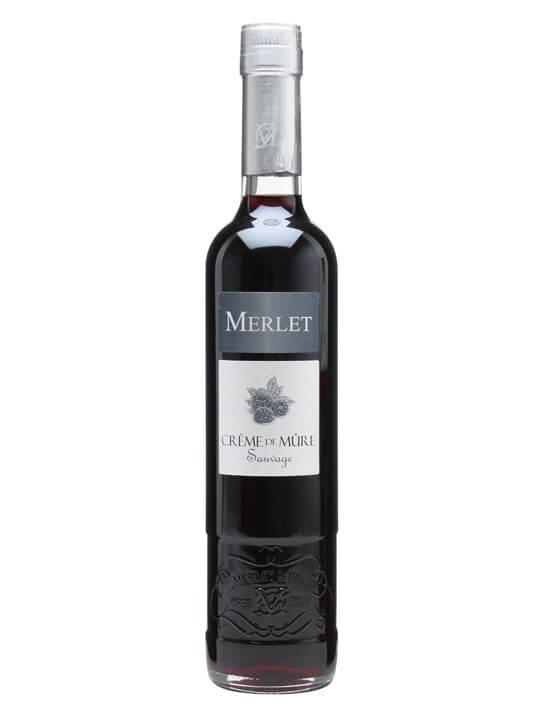 Merlet Creme de Mure (Blackberry) Liqueur / Half Litre