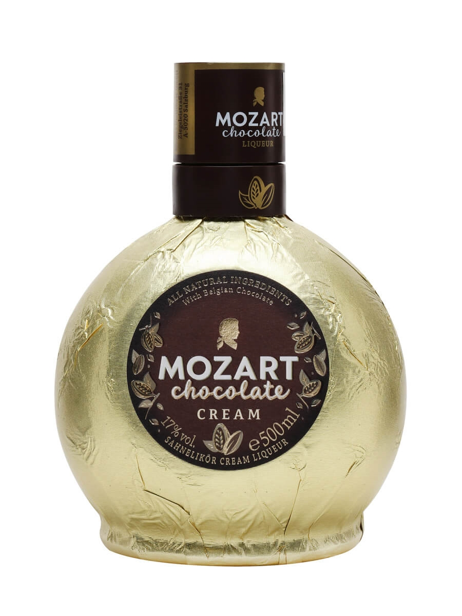 Mozart Gold Chocolate Cream Liqueur : The Whisky Exchange
