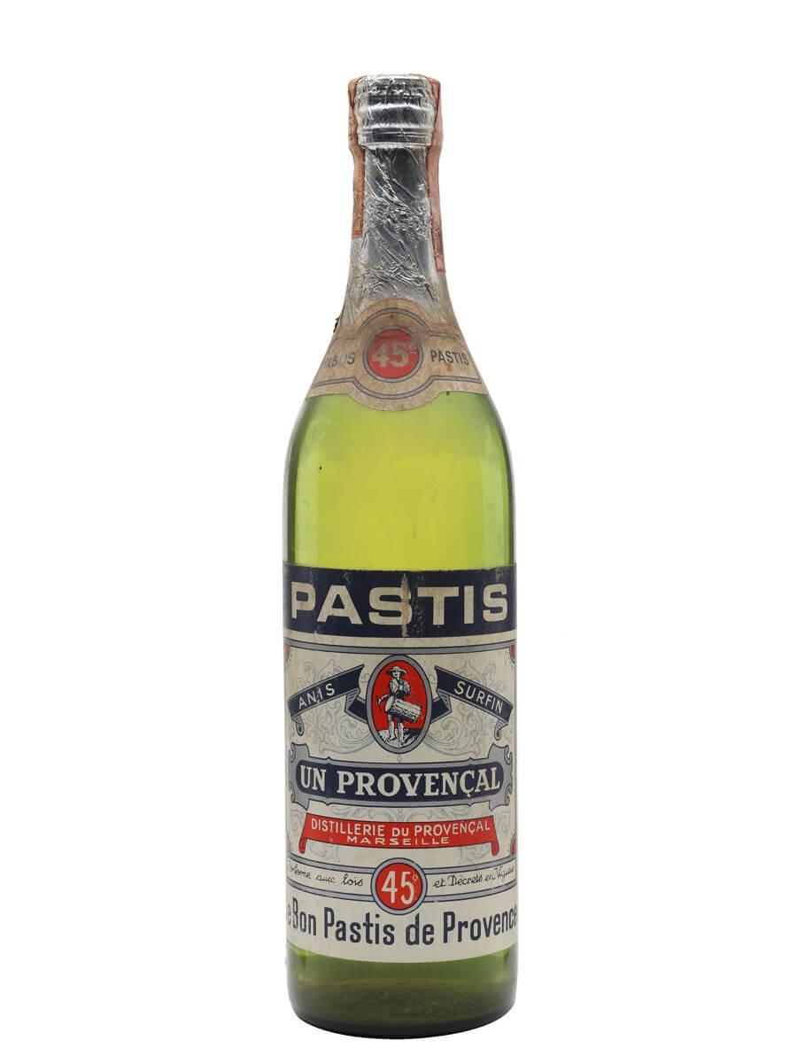 Provençal Pastis / Bot.1970s