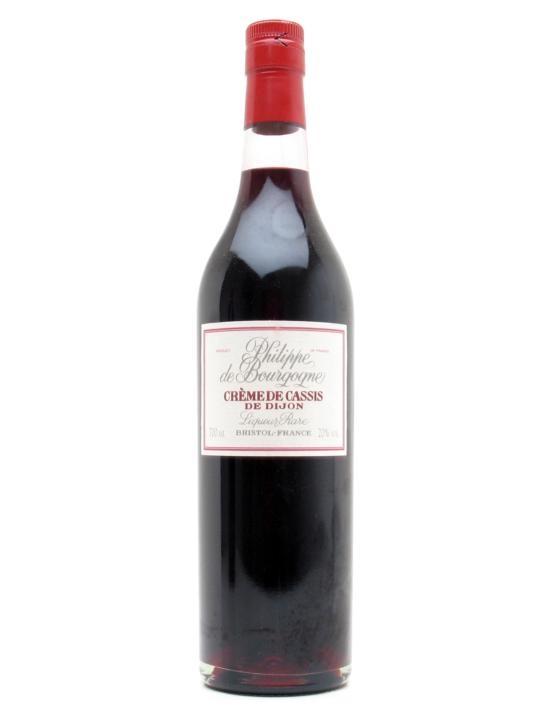 Philippe De Bourgogne Creme De Cassis Liqueur The