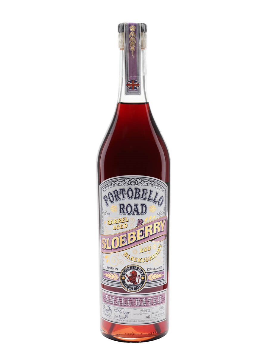 Portobello Road Barrel Aged Sloeberry and Blackcurrant Gin Liqueur