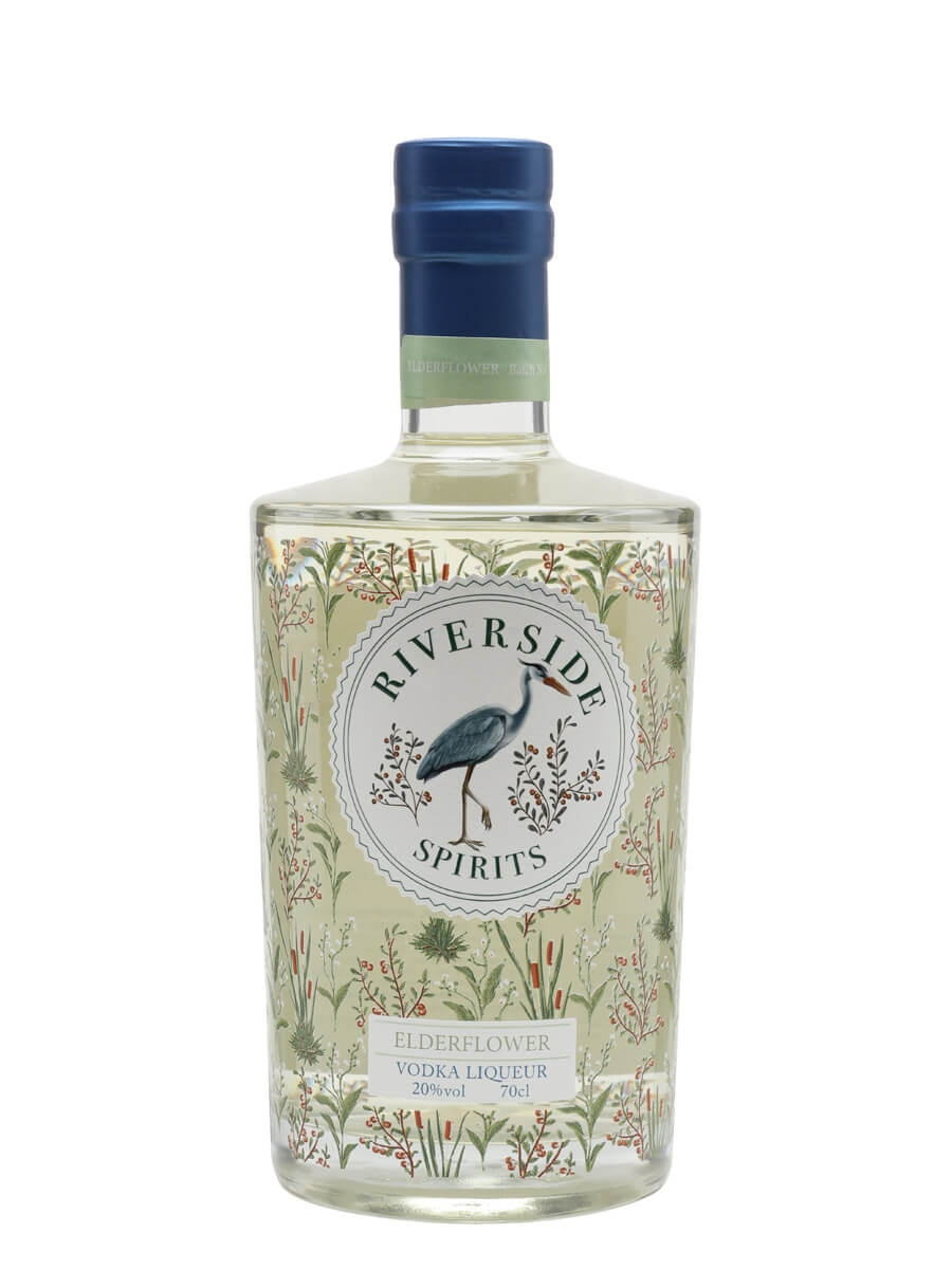 Riverside Spirits Elderflower Vodka Liqueur