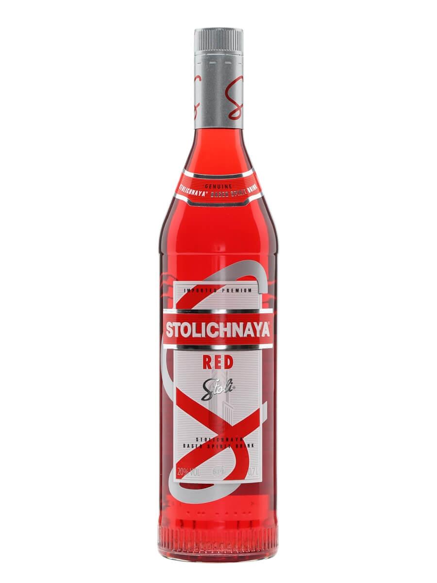 Stoli Red Vodka Liqueur The Whisky Exchange