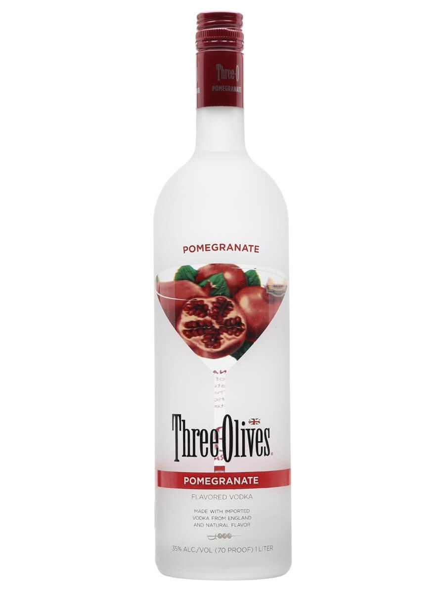 Three Olives Pomegranate / Litre