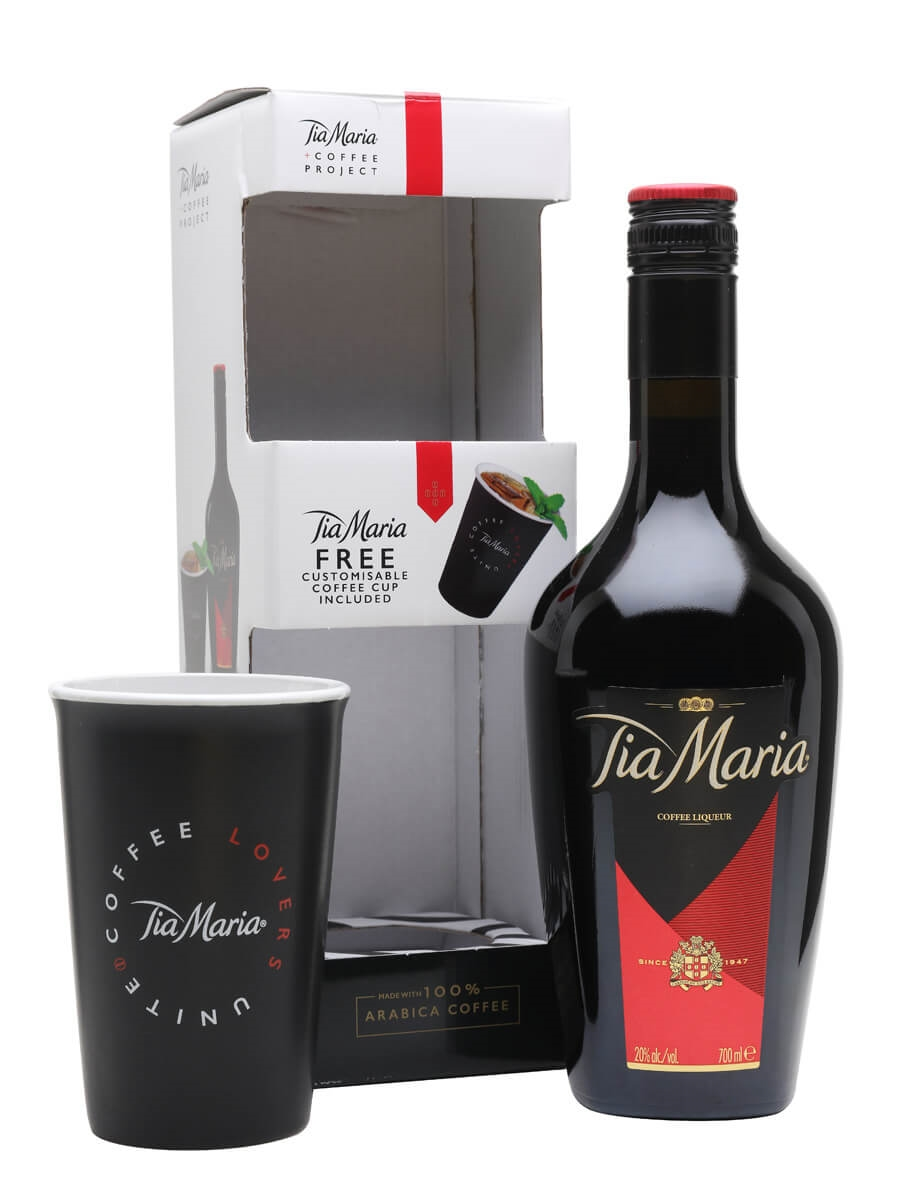 Tia Maria and Coffee Cup Gift Pack