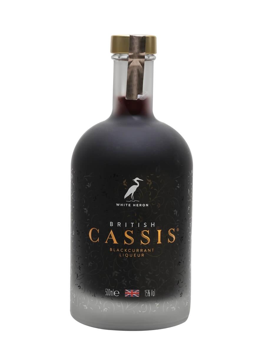 White Heron British Cassis Liqueur