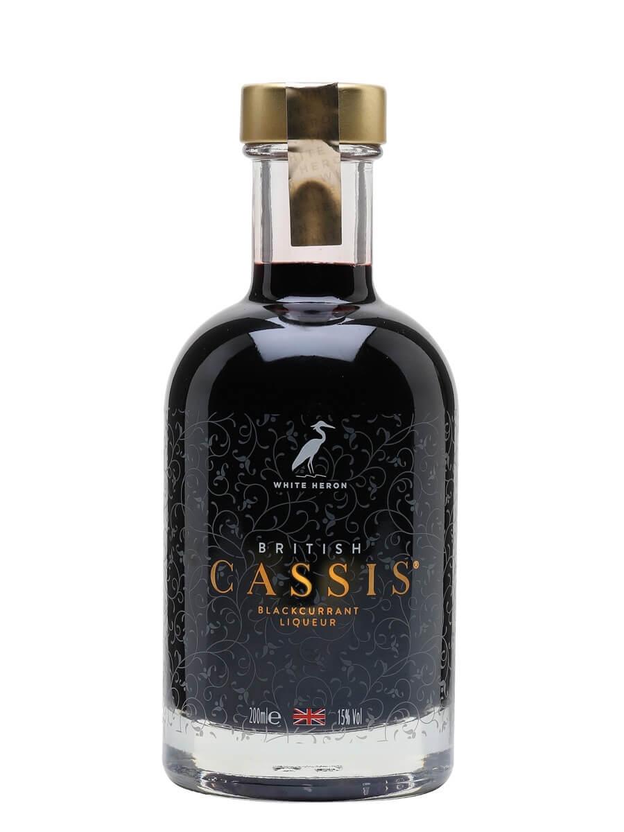 White Heron British Cassis Liqueur / Small Bottle