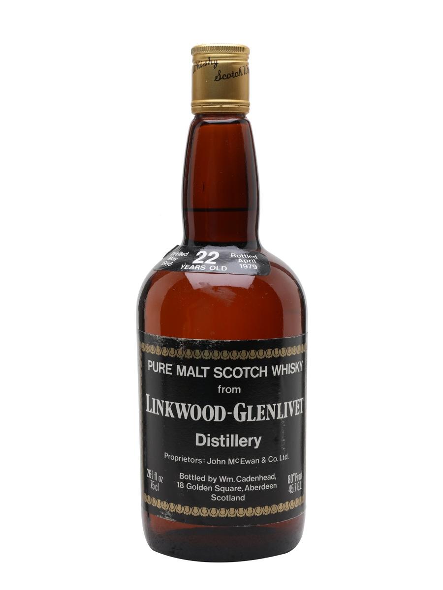 854d8d998e2 Linkwood-Glenlivet 1956 - 22 Year Old - Cadenhead s Scotch Whisky ...