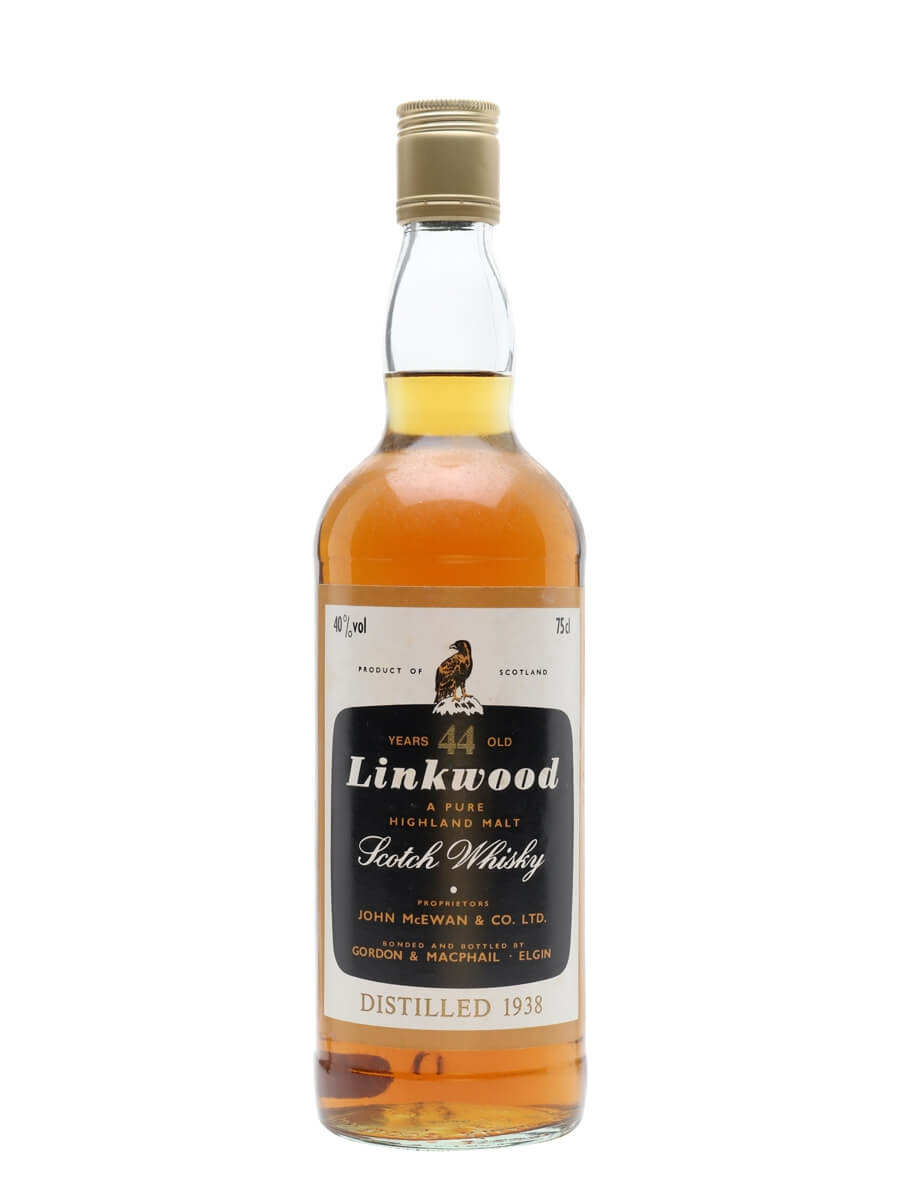 Linkwood 1938 / 44 Year Old / Gordon & MacPhail