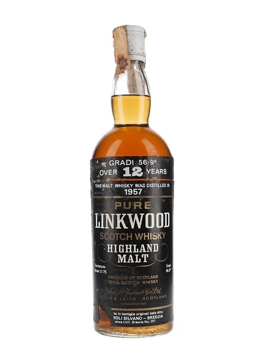 Linkwood 1957 / Over 12 Year Old / Samaroli
