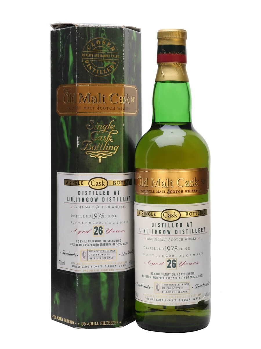 Linlithgow 1975 / 26 Year Old / Old Malt Cask