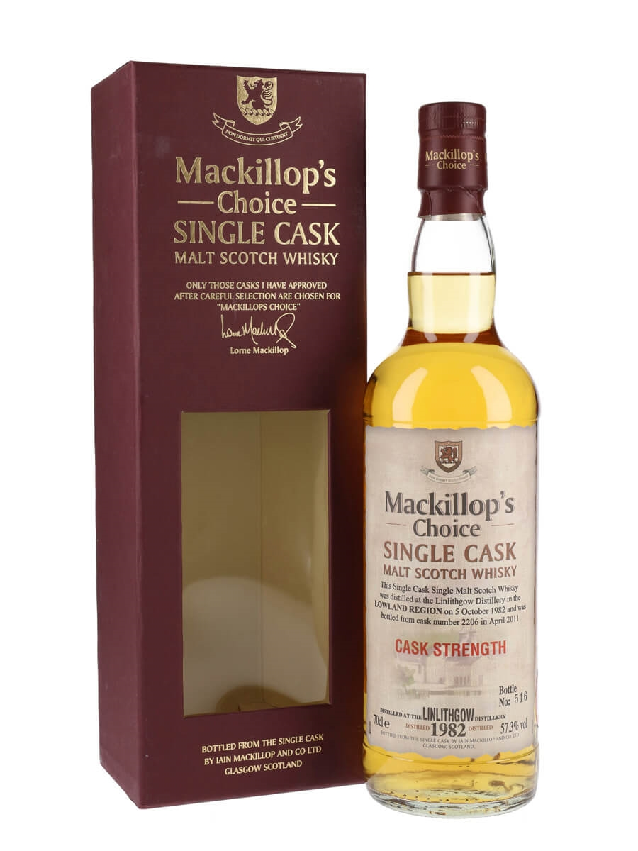 Linlithgow 1982 / 28 Year Old / Mackillop's Choice