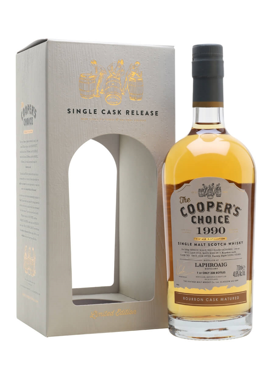 Laphroaig 1990 / 28 Year Old / The Cooper's Choice