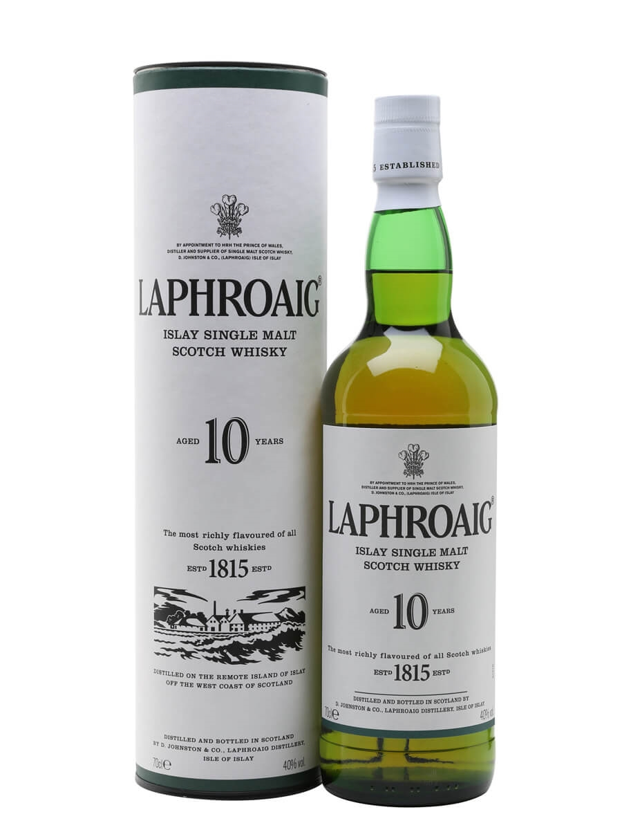 Image result for Laphroaig 10 Year Old