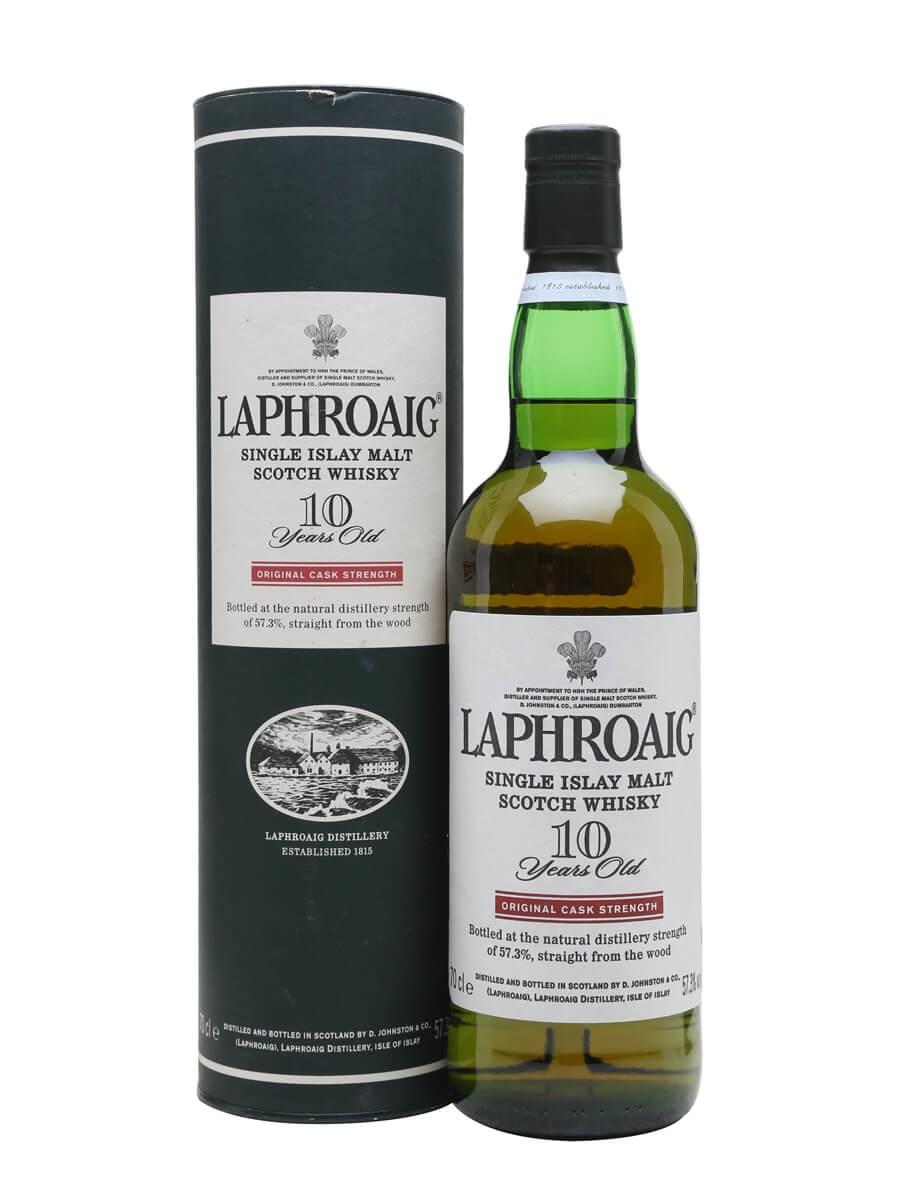 Laphroaig 10 Year Old / Cask Strength