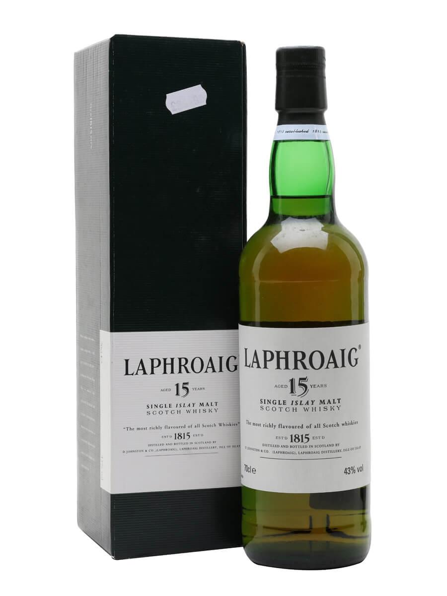 Laphroaig 15 Year Old / Bot.1990s
