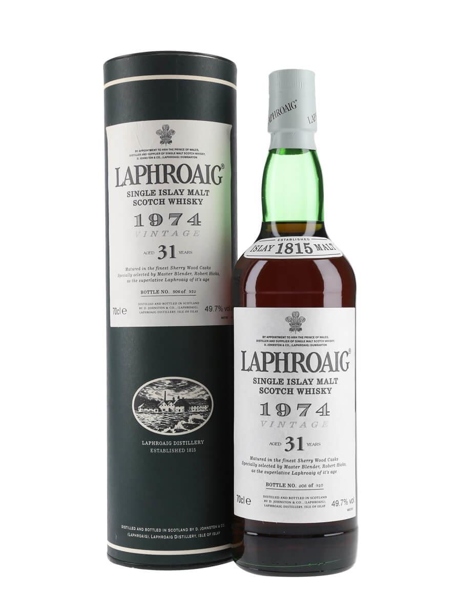 Laphroaig 1974 / 31 Year Old / Sherry Cask