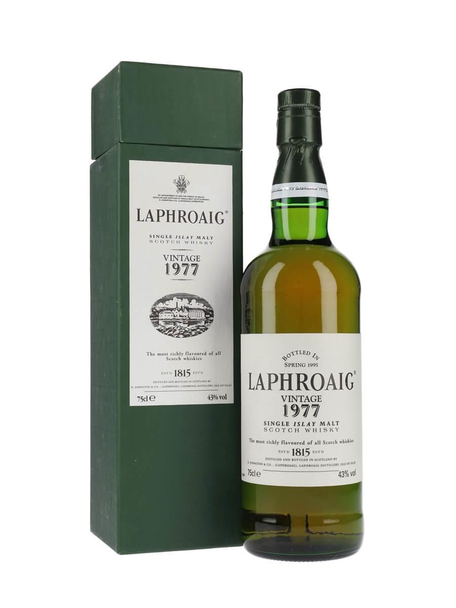 Laphroaig 1977 / Bot.1995