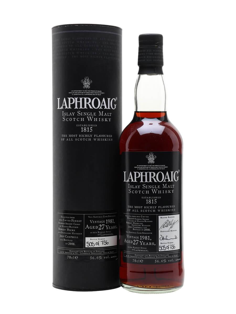 Laphroaig 1981 / 27 Year Old / Sherry Cask