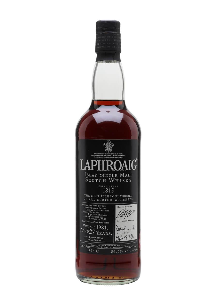 Laphroaig 1981 / 27 Year Old