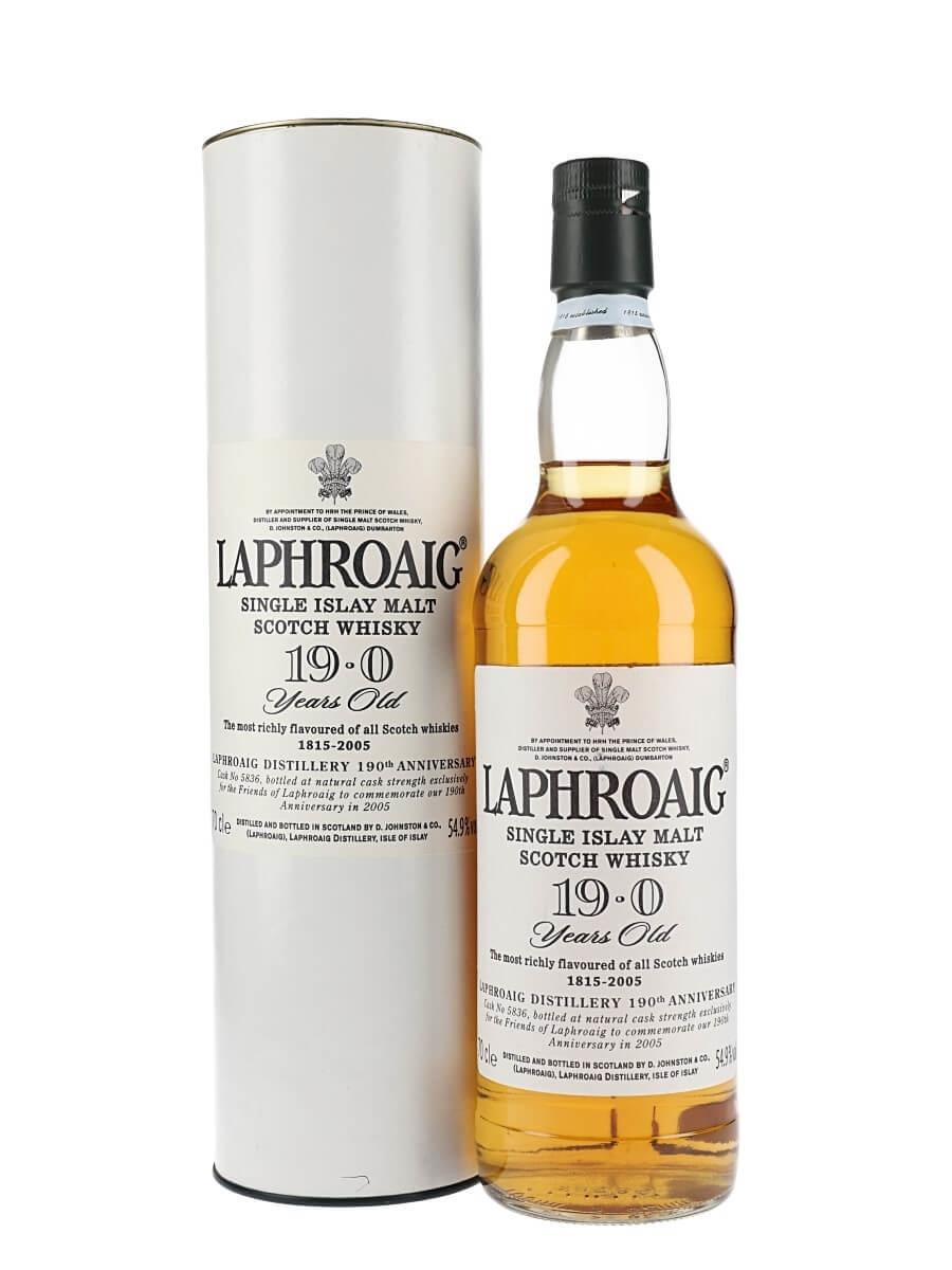 Laphroaig 19 Year Old / 190th Anniversary