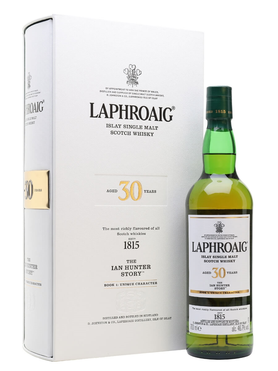 Laphroaig 30 Year Old / The Ian Hunter Story