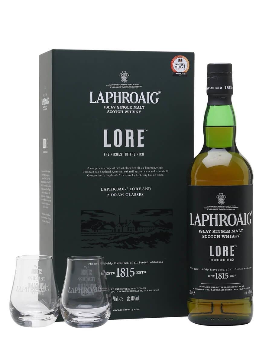 Laphroaig Lore / 2 Glass Pack