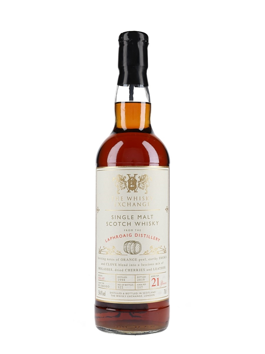 Laphroaig 1998 / 21 Year Old / The Whisky Exchange