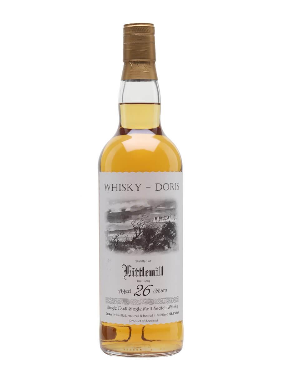 Littlemill 1988 / 26 Year Old / Whisky Doris