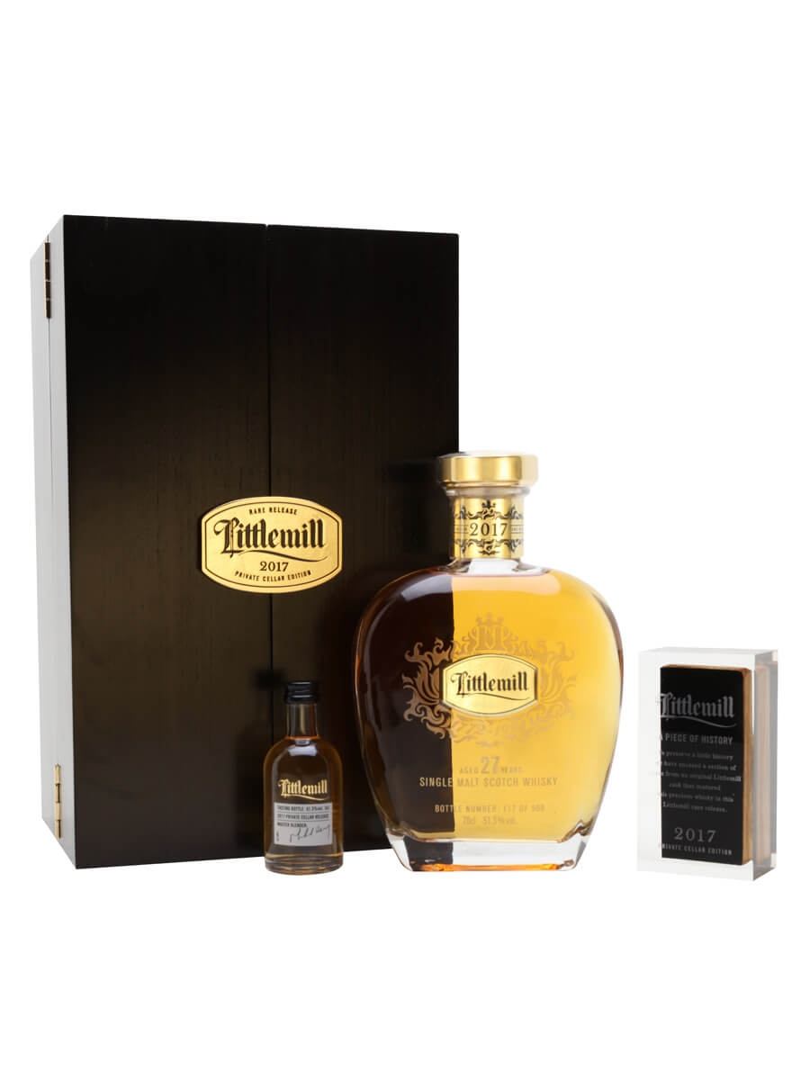 Littlemill 1990 / 27 Year Old / Private Cellar Edition