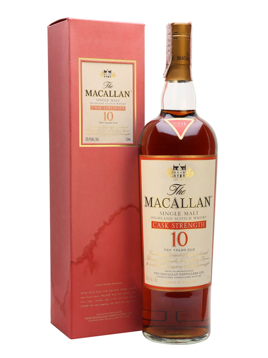 Macallan 10 Year Old / Cask Strength