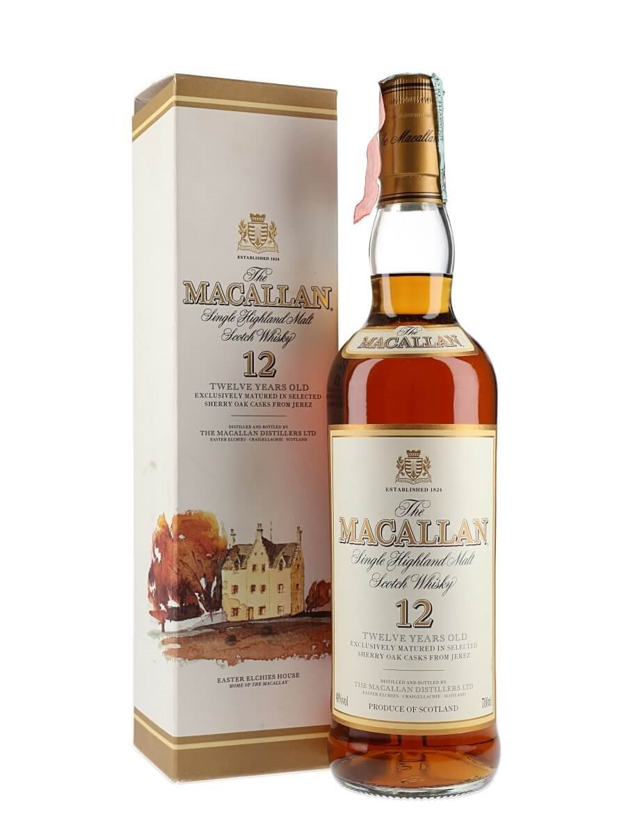 Macallan 12 Year Old / Sherry Cask / Bot.1990s