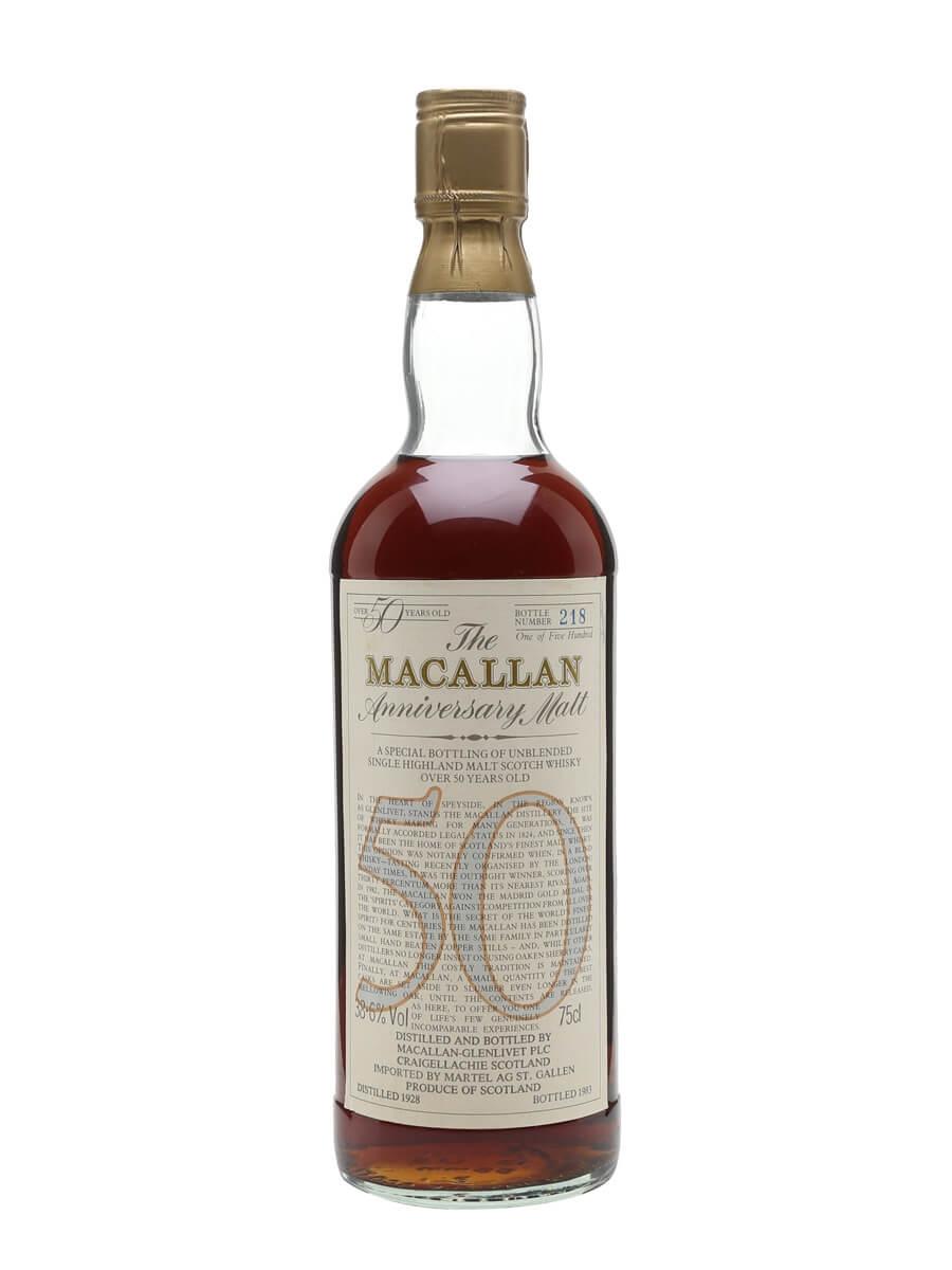 Macallan 1928 / 50 Year Old