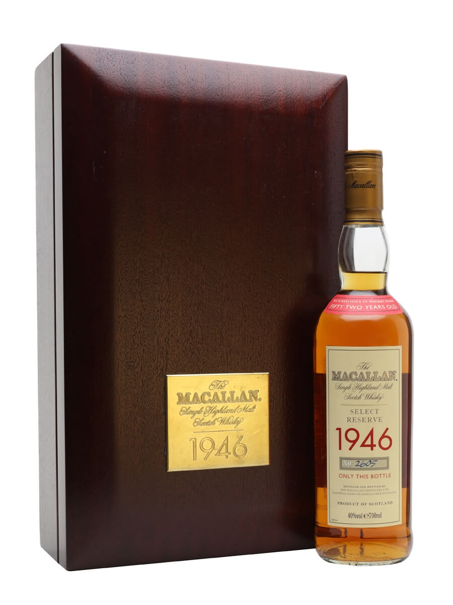 Macallan 1946 / Select Reserve / 52 Year Old